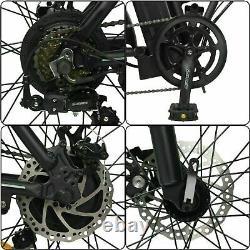 Ecotric 20 48v 12,5 Ah 500w Vélo Électrique Pliant Plage Vélo City Ebike LCD