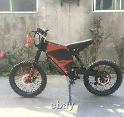 Electric Mountain E-bike 72v 8000w Suspension Complète Meilleure 2021 60mph