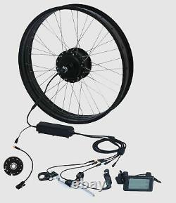 Fat-bike Fatbike Umbausatz 26zoll 4.0 E-bike E Vélo 48v 500watt Front Vorderrad