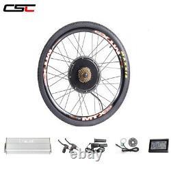 Fonction Croisière Mtx Rim Disc Brake Mountain E Bicycle Conversion Ebike Kit 1500w