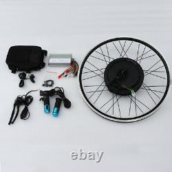 Hot 24 Mountain Bike Modifié Kit De Conversion E-bike Roue Avant 48v 500w Us