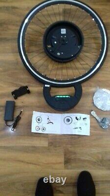 Imortor 3 Electric Mtb 36v 350w Kit E-bike De Conversion De Roue Avant 700c Tous Un