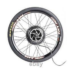 Kit Complet Ebike 48v 1500w Avec Écran LCD Mtx33 Mtx39 Kt Pour Le Kit De Vélo De Frein À Disque