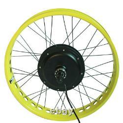 Kit De Conversion De Vélo De Neige Électrique 48v 500w 20 24 26 Pouces 4.0 Graisse De Pneu Ebike