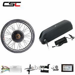 Kit De Conversion De Vélo Électrique 48v Ebike Batterie E-bike Motor Wheel Sw900