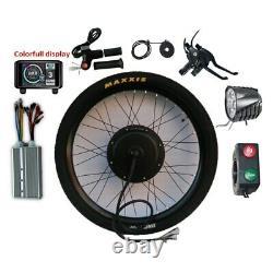 Kit De Conversion De Vélo Électrique 60v 72v 1500w 3000w 5000w 8000w Bike Ebike