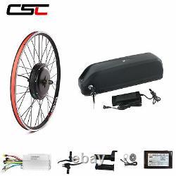 Kit De Conversion De Vélo Électrique De Batterie Ebike 48v 26 28 29 Pouces E-bike Kit