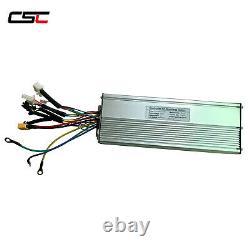 Kit De Conversion E Vélo Électrique De 48v 1000w Avec Écran Lcd3 Et Batterie Samsung