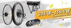 Kit De Conversion Ebike 2020 48v 1500w 1000w 750w 36v 500w Vélo E Arrière Avant