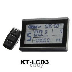 Kit De Conversion Électrique E Bike 1500w 48v Avec Écran Lcd3 Et Batterie Samsung
