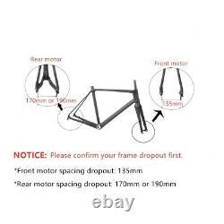 Kit De Conversion Fat E-bike Avec Affichage Kt-lcd8 Pour Vélo Fat Tire 20/24/26x4.0