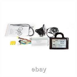 Kit De Conversion Fat Ebike Avec Écran Sw900 Pour 20/24/26 Snow Electric Bike