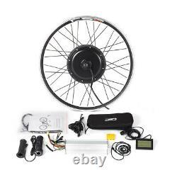 Kit De Conversion Vtt E-bike Avec Kt-lcd3 Display Front/rear Wheel Brushless Motor