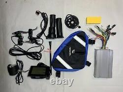 Kit De Vélo Électrique 48v 1000w Avec Interrupteur 250w Wire 26inch Roue Avant Ebike