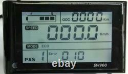 Mtx Marque Rim LCD Vélo Électrique Avant Arrière Hub Moteur 1000/1500w 48volt Kit Vélo
