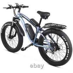 Nouveau Vélo Électrique 1000w 48v Suvs Montagne Ebike Pneu Graisse Électrique Vélomoteur Adulte