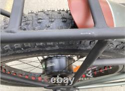Remise À Neuf 1250w Electric Bicycle Addmotor M-5500 Hunting Hydraulic Brake Ebike