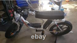 Remise À Neuf 750w Electric Bike Addmotor M-66 R7 Step-thru Ebike, 7 Speeds Gear
