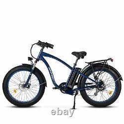 Rétro 750w 13a Maxfoot Vélo Électrique 26 Fattire Beach Cruiser Mf-18p E-bike