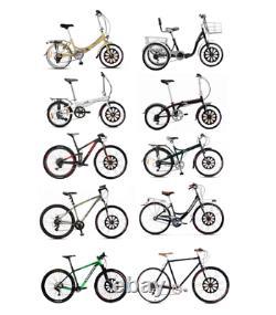 Roue Avant 20 Batterie À L'intérieur Du Moteur Électrique De Vélo E-bike Kits De Conversion