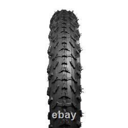 Roue De Vélo De Plage De 20x4.0 E-bike Snowfield Tire Avant Et Arrière Roue De Vélo De Plage De 20 Pouces 60tpi