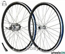 Roues De 26 Pouceson Wheel Set Avant Et Arrière Shimano Nexus 7 E Bike E-city Sapim