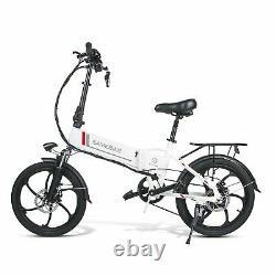 Samebike 20lvxd30 Vélo Électrique 20 Assistance Électrique E-bike Pliable 350w 48v 10.4ah