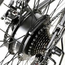 Samebike Lo26 Vélo Électrique Pliant 26 500w Aide Électrique Vélo De Montagne Ebike