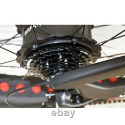 Samedi 750w Carbon Fibre Fat E Vélo De Croisière Électrique De 26 Pouces 50kmh