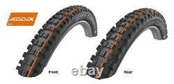 Schwalbe Eddy Current 27,5 Et 29 X 2,4/2,6 Pneu Emtb Avant / Arrière Pneu E Bike Tyre