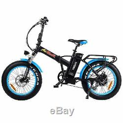 Shimano 750w Pliable Vélo Électrique Addmotor M-150 P7 48v Gros Pneu Ebike Vélo