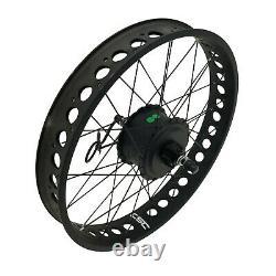 Snow Bike Fat Tire Bicycle Electric Kit 20 24 26'' Conversion Ebike Kit 36/48v