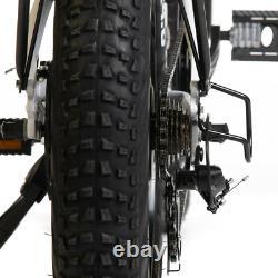 Sohoo 48v500w12a 20x4.0 Adulte Pliant Fat Tire Vélo Électrique Vtt