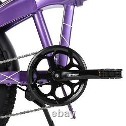 Suspension Avant 1000w Electric Folding Bike Maxfoot Mf-19 Snow Commuter Ebike
