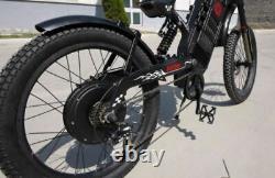 Triad Txcf All-route Ebike Vélo Électrique Vtt 2x2 Awd Transmission Intégrale En Fibre De Carbone