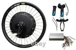 Us Hot Sale 1 Pc 20inch 48v 500w Avant Roue E-bike Conversion Modifié Kit Nouveau