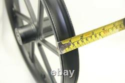 Vélo Bicycle Avant Roue 16 X 1.75/2.125/2.5'' Scooter Ebike Noir