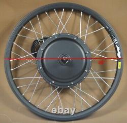 Vélo De Montagne De 26 Pouces Modifié 48v-60v 500w Kit De Conversion E-bike