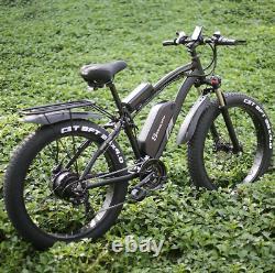Vélo Électrique 48v 1000w 4.0 Fat Tire Ebike 26 Pouces 40km/h 17ah Vélo Électrique