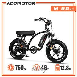 Vélo Électrique 750w 20 Moped Bike Addmotor Motan M-66 R7 Step-thru E-bike LCD