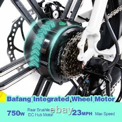 Vélo Électrique 750w 48v 14ah Batterie 20'' Fat Tire Addmoteur M-60 R7 Ebike