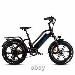 Vélo Électrique Addmotor M-50 750w Suspension Cyclomoteur Vélo Vélo Assisté E-bike