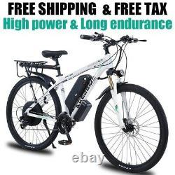 Vélo Électrique De 29 Pouces De Montagne E 48v1000w Vélo Électrique De 21 Vitesses E-bike
