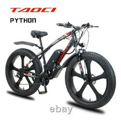 Vélo Électrique De Gamme E-bike 48v 1000w 26 50km Avec Cadre De Poids Léger