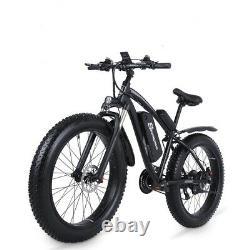 Vélo Électrique De Montagne 26'' E-mtb 17ah Ebike 48v 1000w Alliage E-bicycle