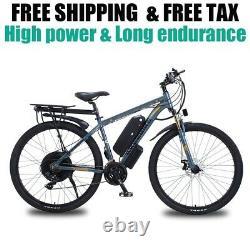 Vélo Électrique De Montagne De 29 Pouces 48v1000w Vélo Électrique De 21 Vitesses E-bike