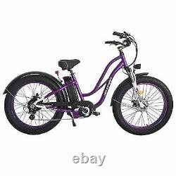 Vélo Électrique Maxfoot 26 Fat Tire E-bike 750w 48v 13a Batterie De Vélo Pas À Pas