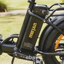 Vélo Électrique Pliant 750w Addmotor M-140 R7 Step-thru Ebike 48v 16ah Batterie