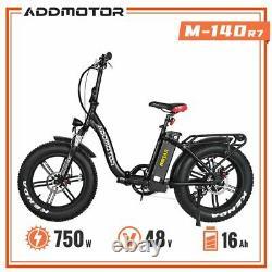 Vélo Électrique Pliant Rénové Addmotor M-140 R7 Step-thru Ebike