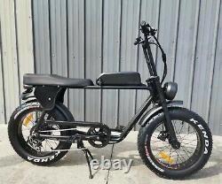 Vélo Électrique Vélo Électrique 2 Places Batterie Lithium Alimenté 10.4ah 48v 500w 31 À 60 Kmh
